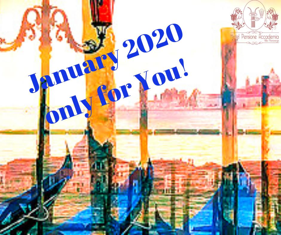 ¡Especial Venecia en Enero 2020! Hotel Pensione Accademia Venezia