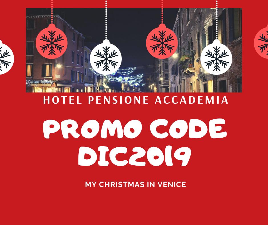 The magic of Christmas in Venice… At Pensione Accademia! Hotel Pensione Accademia Venezia