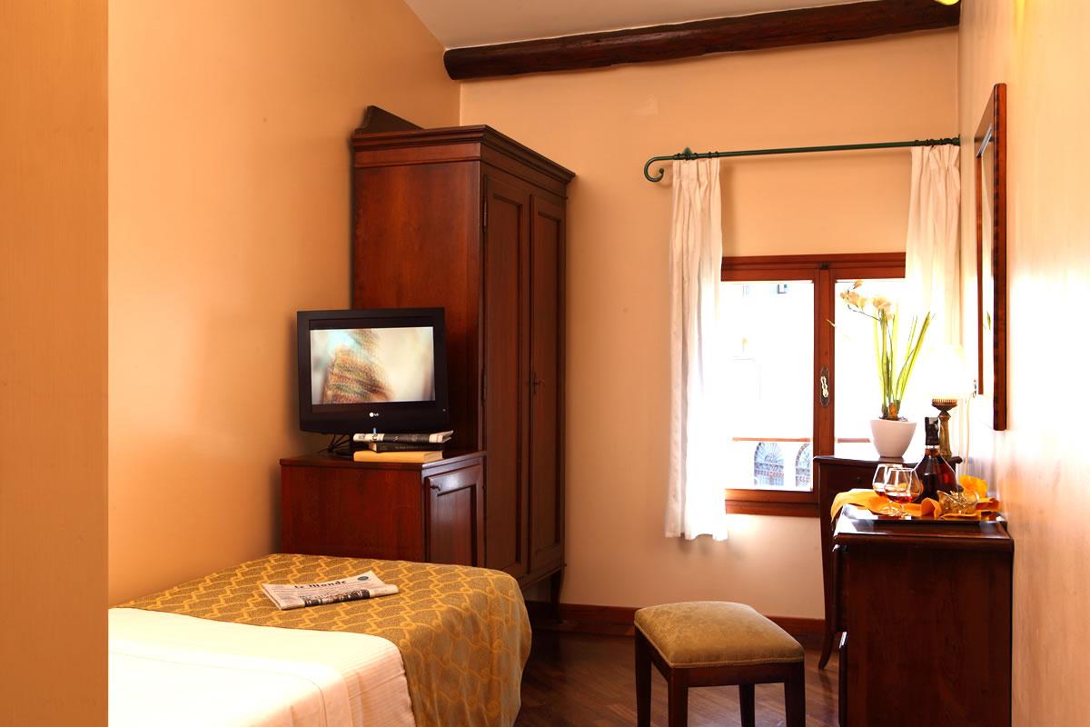 Einzelzimmer Hotel Pensione Accademia Venezia