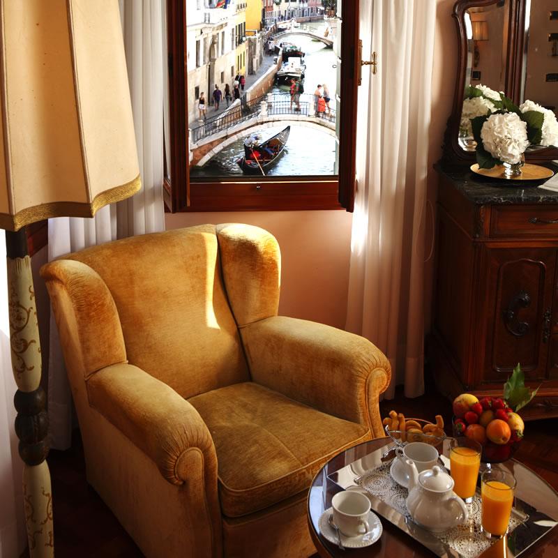 Camere Hotel Pensione Accademia Venezia