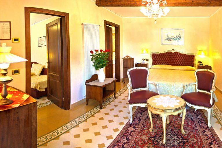 Vierbettzimmer Hotel Pensione Accademia Venezia