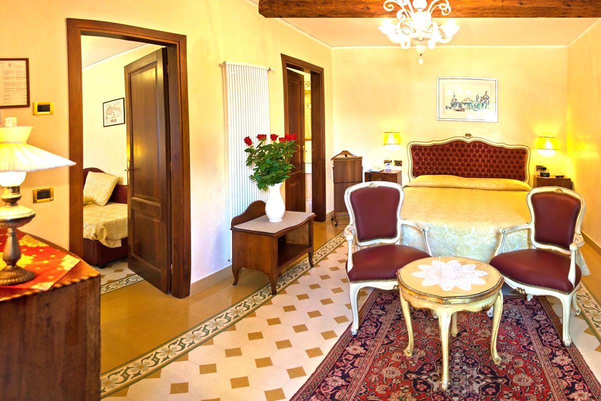 Habitacion cuádruple Hotel Pensione Accademia Venezia