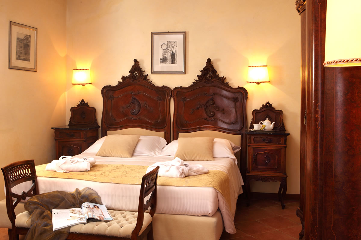 Dreibettzimmer Hotel Pensione Accademia Venezia