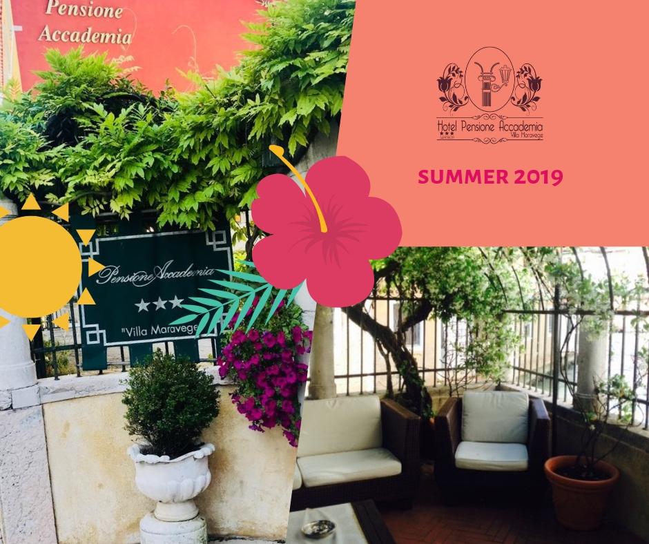 VERANO 2019 Hotel Pensione Accademia Venezia